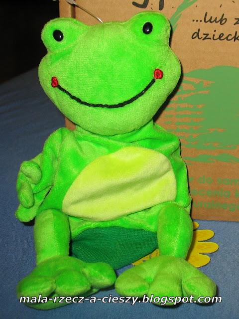 """""""Pewna żaba była..."""" pacynką czy rękawiczką? Test zabawki w ramach współpracy z Pikinini"""