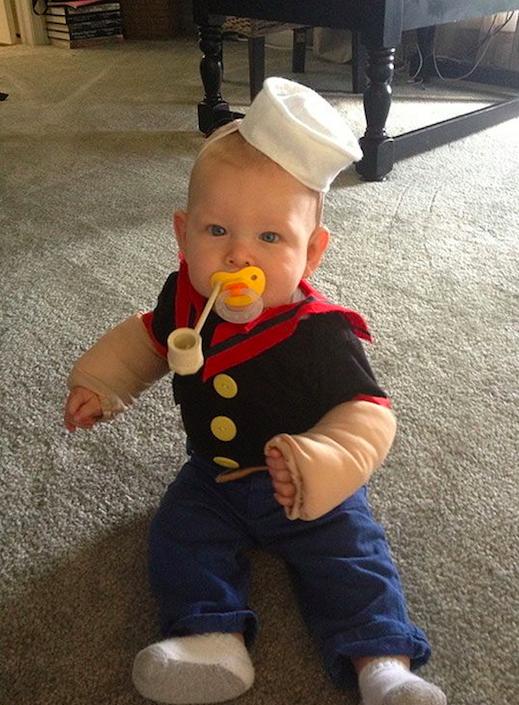 Disfraz Popeye bebe
