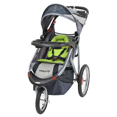 Baby Trend Velocity Jogging Strollercobblestone on Product Review   Baby Trend Velocity Stroller   Babycenter