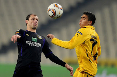 AEK Athens 1 - 2 Anderlecht (1)