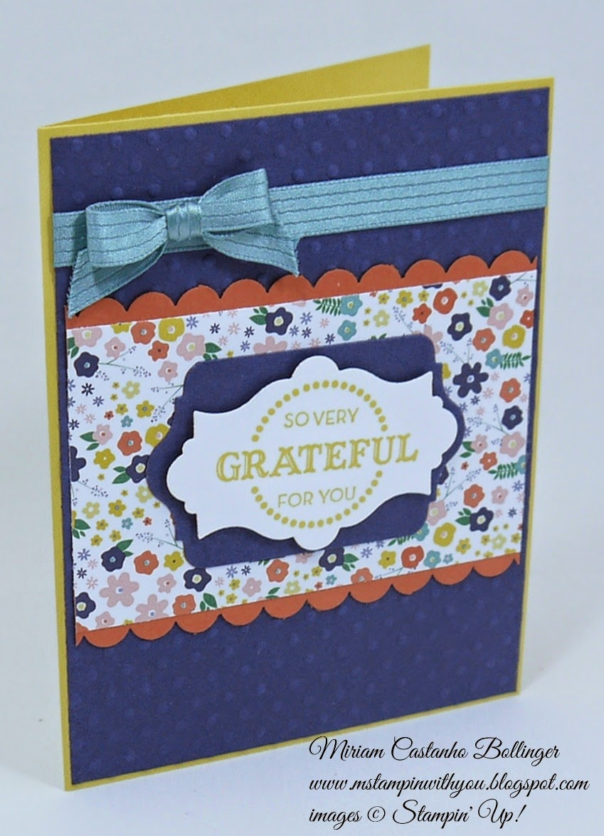Miriam Castanho Bollinger, mstampinwithyou, stampin up, demosntrator, fms 164, flower pot dsp, let your hair down, big shot, apothecary accents framelit, chalk talk framelit, scalloped edge border punch, perfect polka dot, su