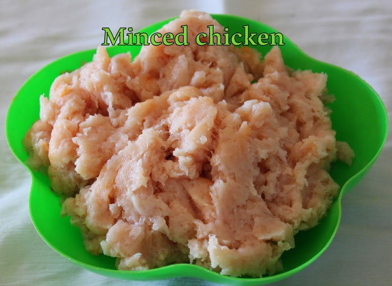 Mahaslovelyhome: Minced meat/How to make minced chicken at home/step ...