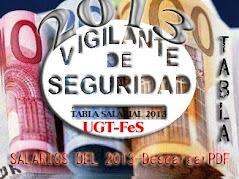 Tablas Salariales 2013