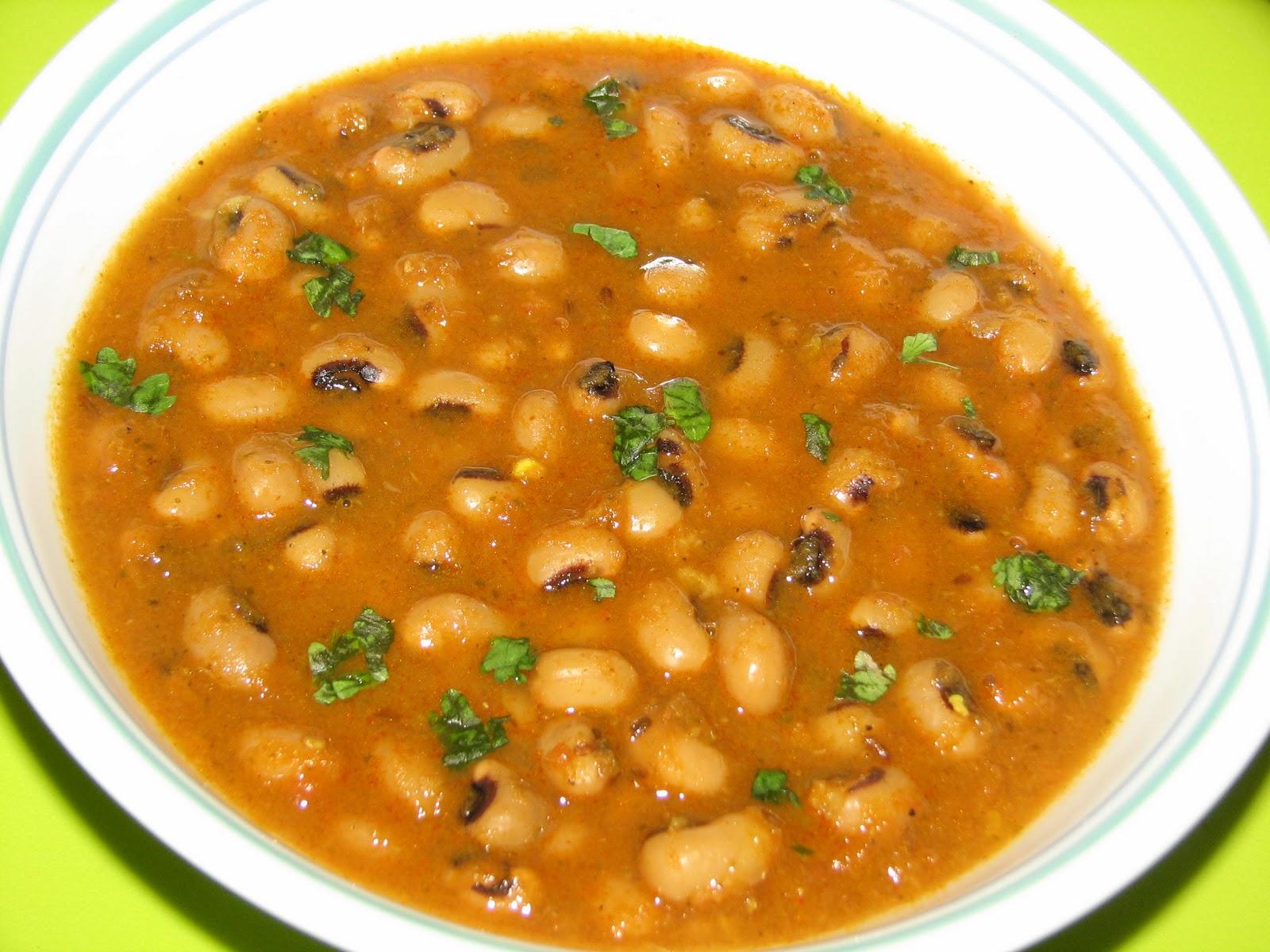 Black-Eyed Pea Curry Recipe — Dishmaps