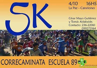 5k por la escuela 89 de La Paz (Canelones, 04/oct/2014)