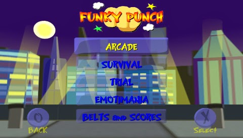 Funky Punch | Juegos PSP en 1 link