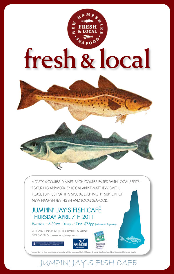 Nh sustainable marine fisheries jumpin 39 jays fish cafe to for Fish market portsmouth nh