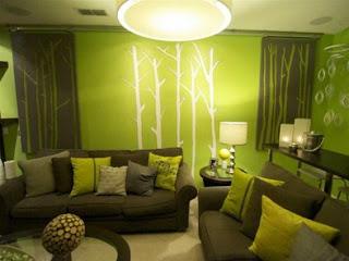 Diseño de sala verde