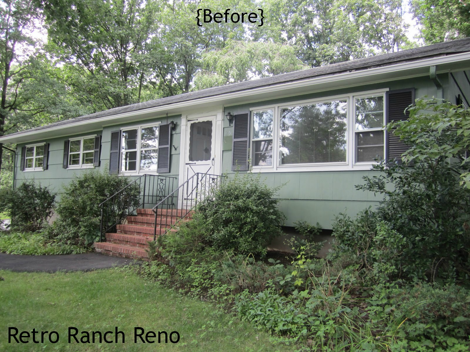 1950s ranch house makeover for 60s house exterior makeover