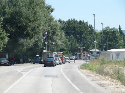 frontera Croacia Bosnia