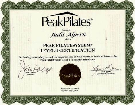 Peak Pilates edző