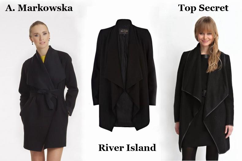 płaszcz River Island