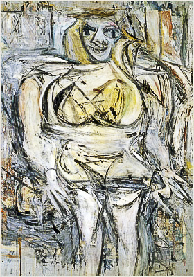 steven a cohen's woman III painting by willem de kooning