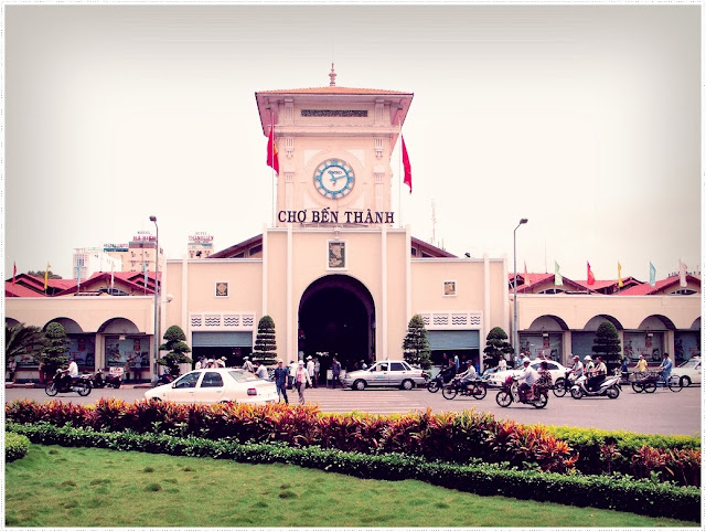 Ben Thanh market - one of the symbol of Ho Chi Minh city