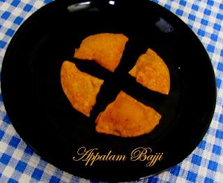 Appalam Bajji