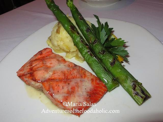Simply Grilled Wild Alaskan King Salmon