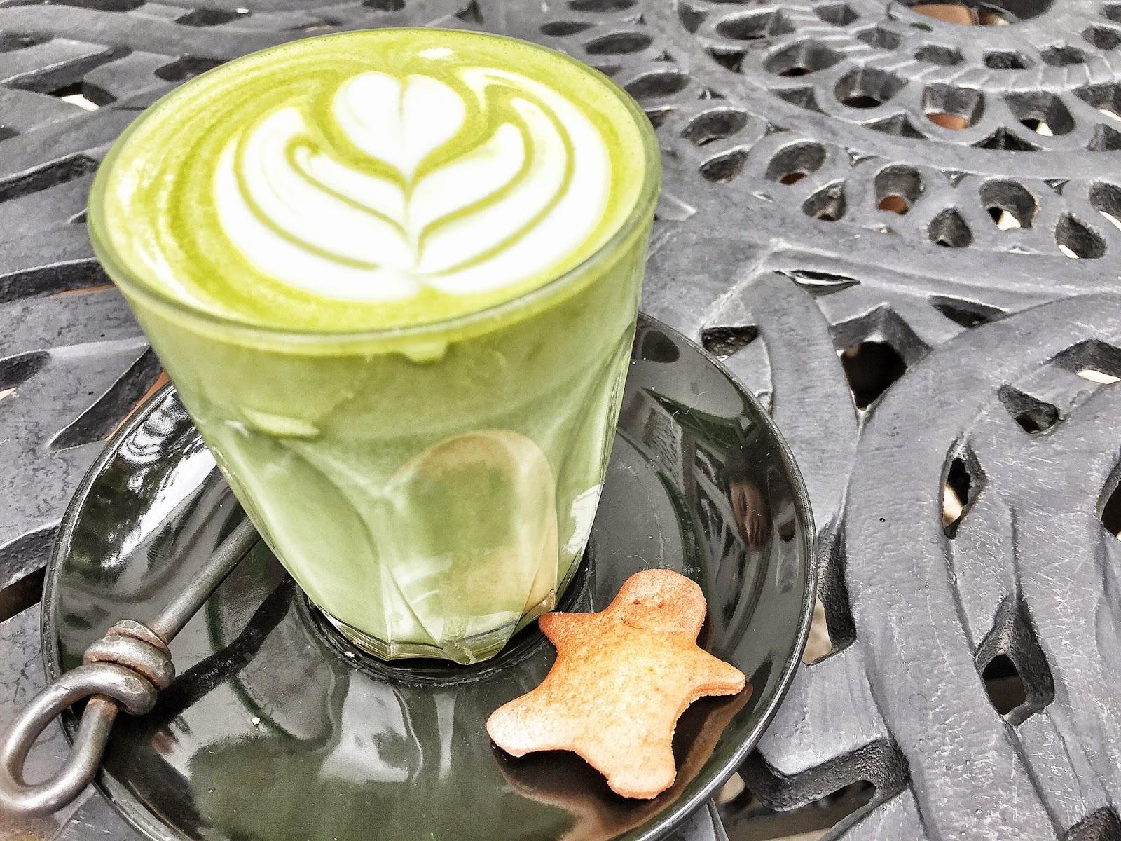 Symmetry Cafe - Green Tea Latte