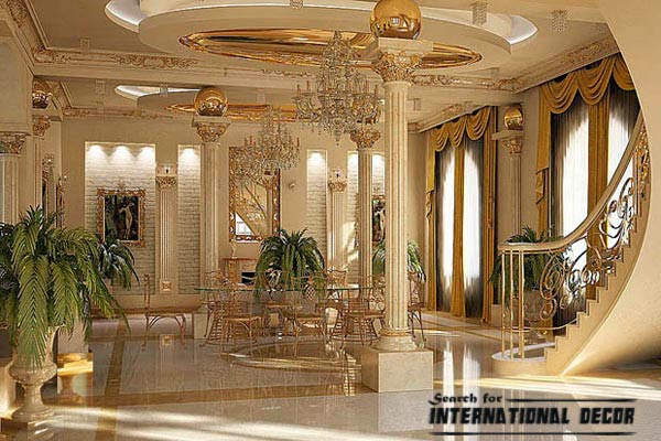 Leading ideas for neoclassical style in the interior and Neo classic interior design