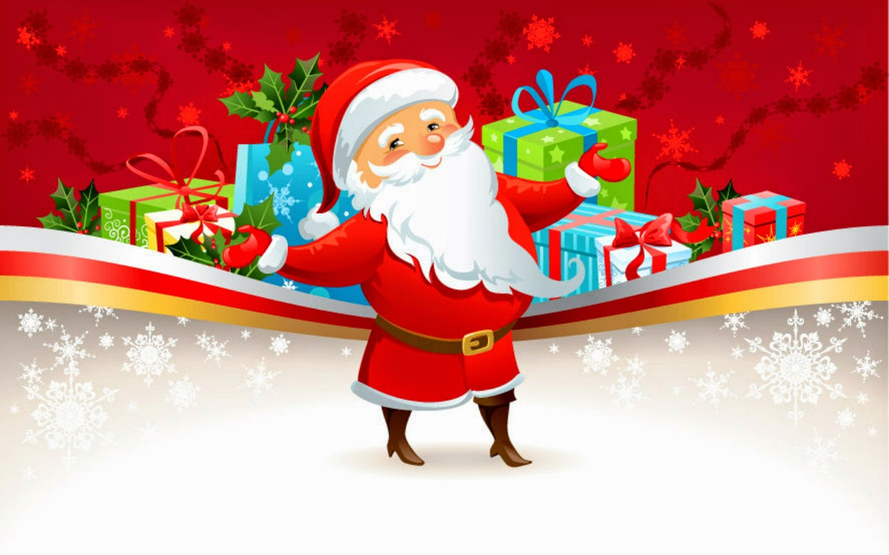 Funny Santa Claus Cartoon Pictures Christmas Images For Facebook PIXHOME
