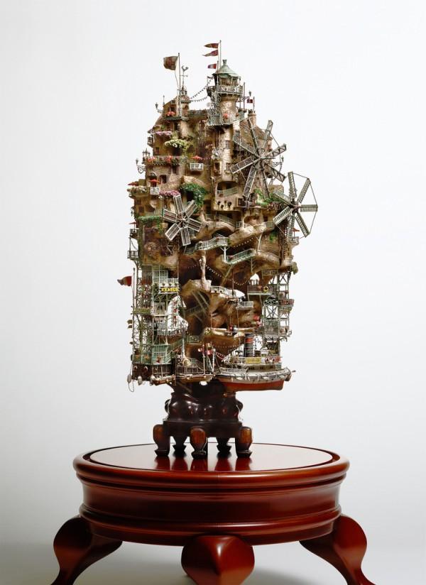 A bela arte do Bonsai no trabalho de Takanori Aiba