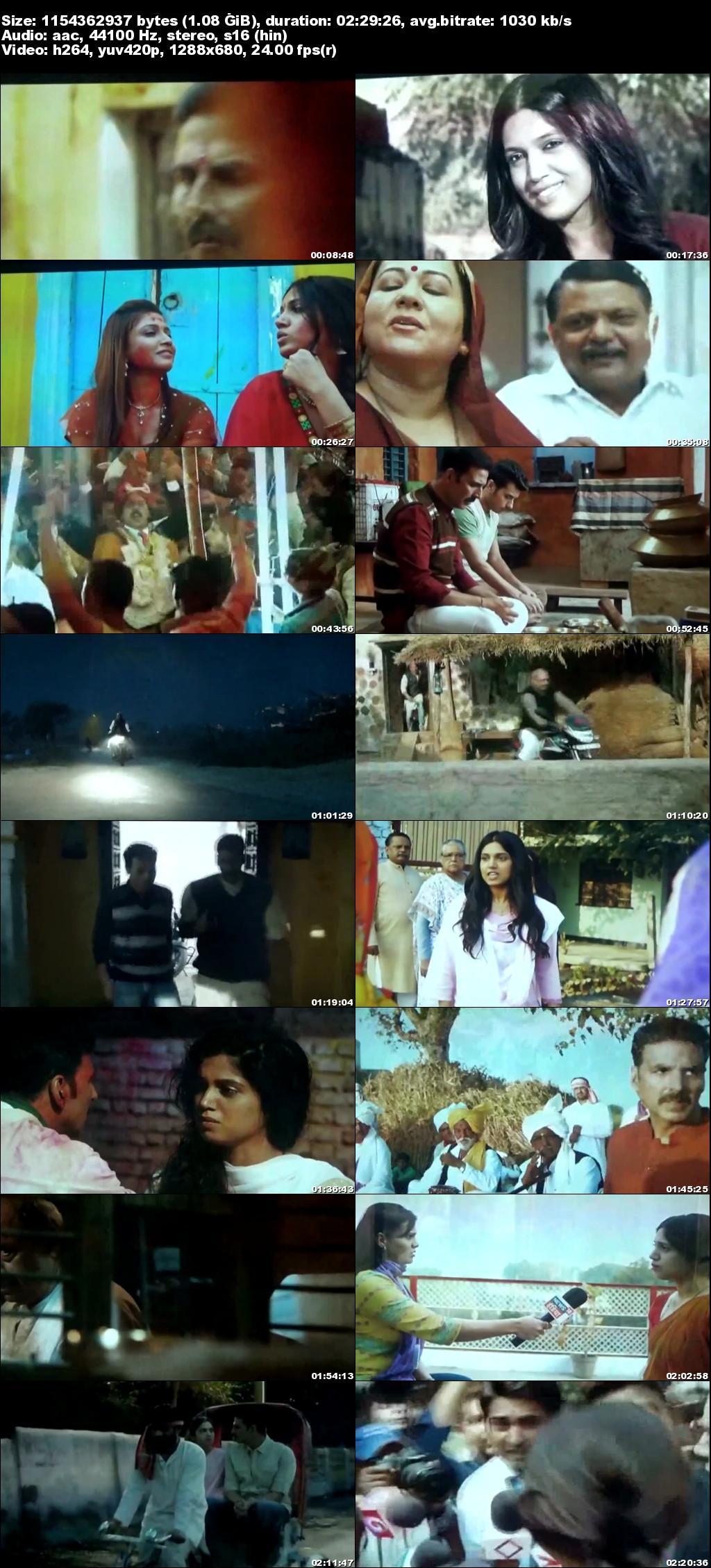 Screen Shot Of Toilet – Ek Prem Katha 2017 Full Movie Free Download HD 720P Watch Online
