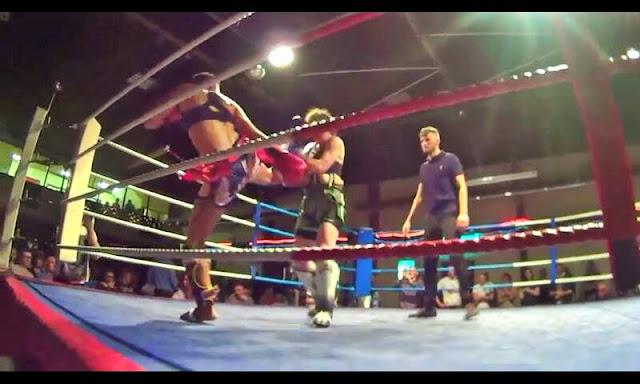 Thai boxing MuayThai Hammerhead Eimer Codd Cecile Gordon
