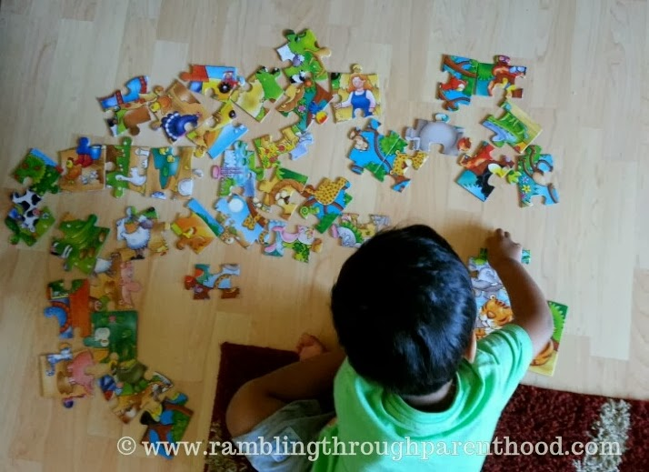 5 Toddler Activities for a Rainy Day