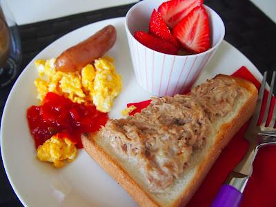 朝ご飯 イッタラ