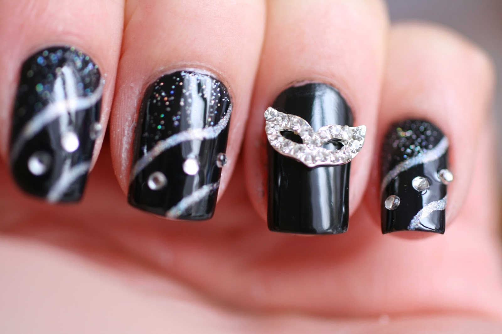 Brilliantnails New Years Eve Nailart