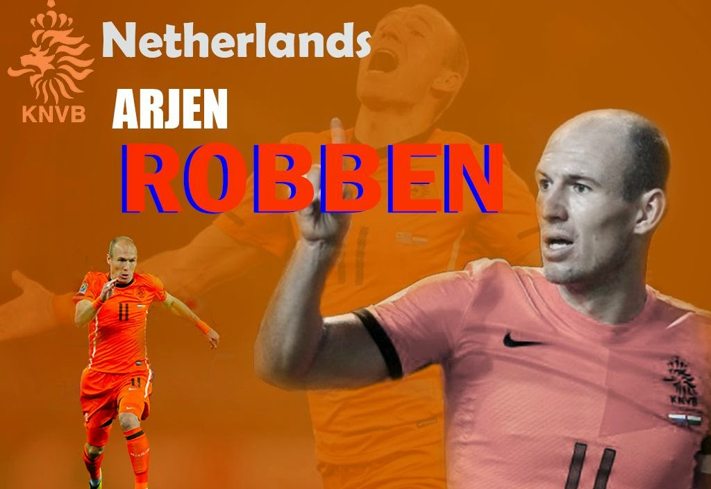 Wallpaper Arjen Roben