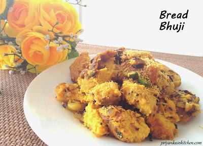 Bread Bhuji Bhurji