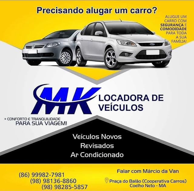 MK - LOCADORA DE VEÍCULOS