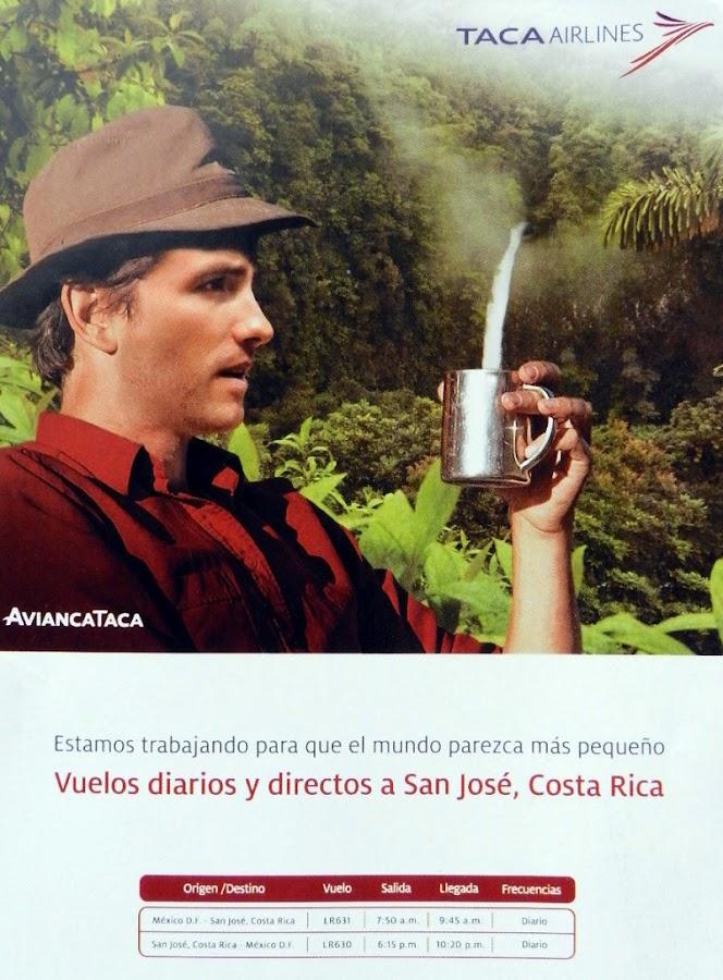 Taca boletos aereos salvador guatemala costa rica panama for Vuelos baratos a costa rica