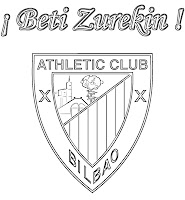 ATHLETIC DE BILBAO PARA COLOREAR