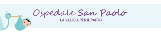 Ospedale San Paolo: la valigia per il parto