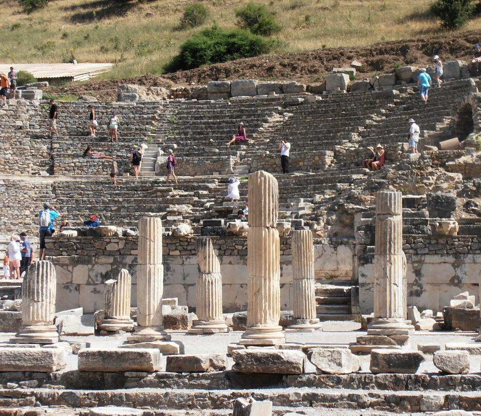 Cruise the pacific shore tour to magnificent ephesus turkey - Ephesus turkey cruise port ...