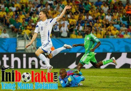 Cuplikan Gol Nigeria Vs Bosnia
