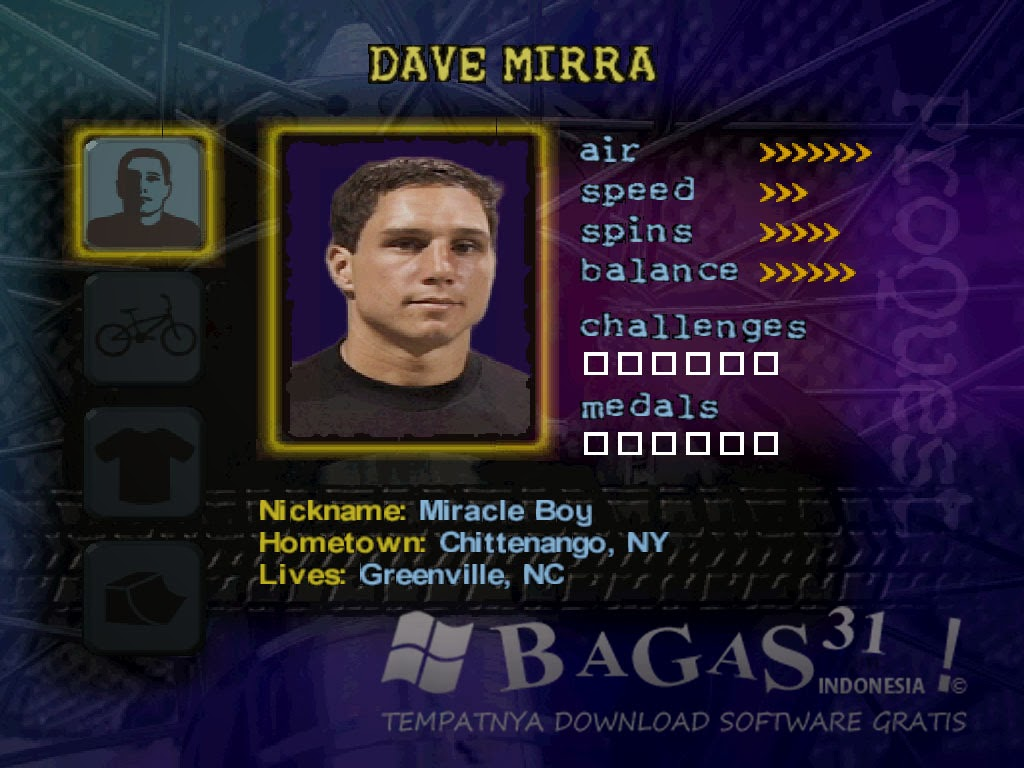 Dave Mirra Freestyle BMX Full RIP