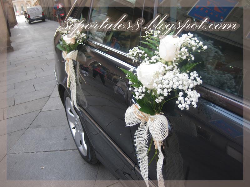 Soportales 8 dise o floral boda 8 de septiembre de 2012 - Decoracion interior coche ...