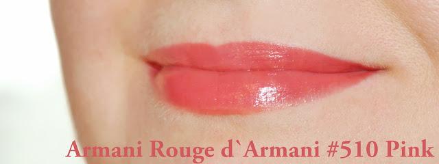 Armani Rouge d`Armani #510 Pink