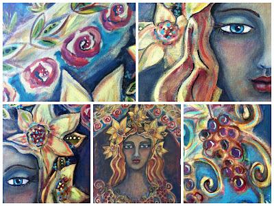 Harvest Queen Collage
