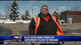 Southwest Airlines Sued By Overweight Man