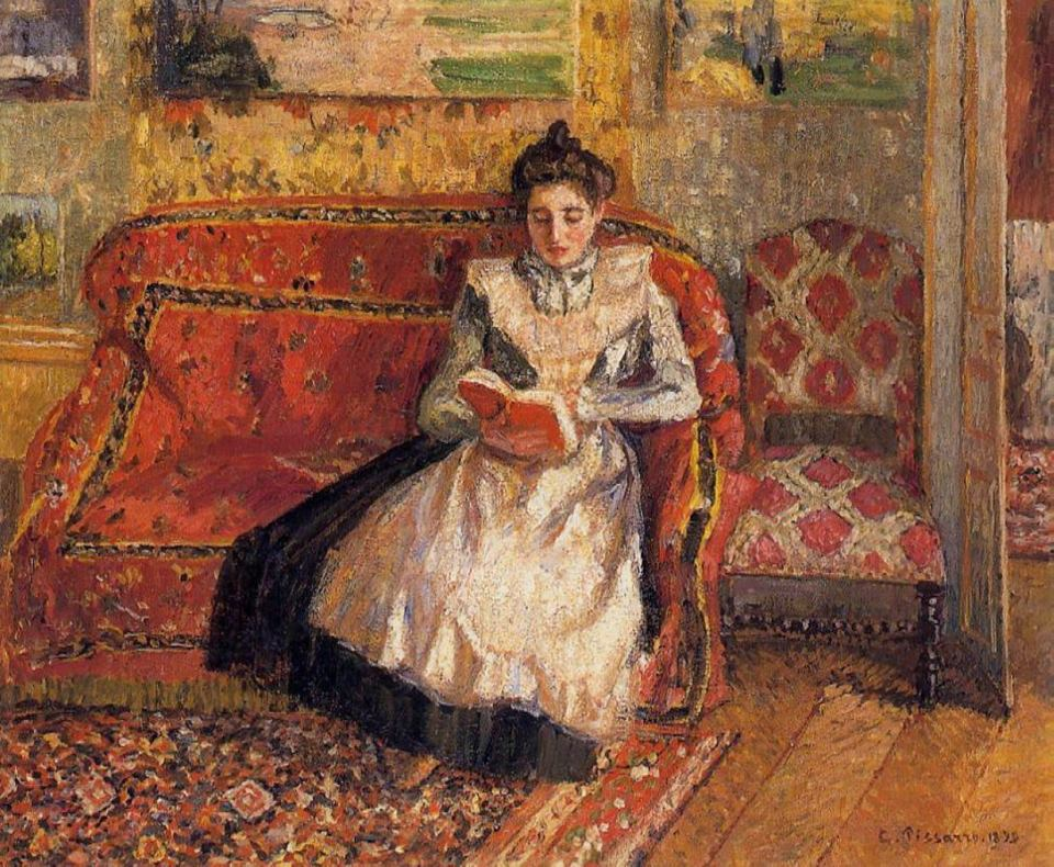 Camille Pissarro. Jeanne Reading, 1899