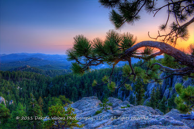 Sunset on Needles Highway on www.dakotavisions.com: Top 7 Most Viewed Photos of 2013