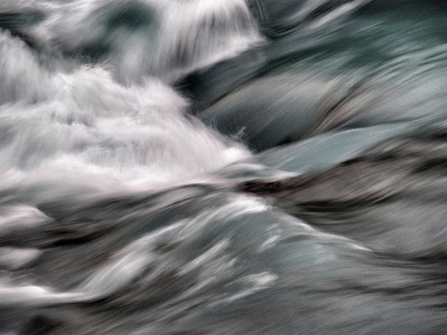 Salto Chico Abstracted, Patagonia, Chile