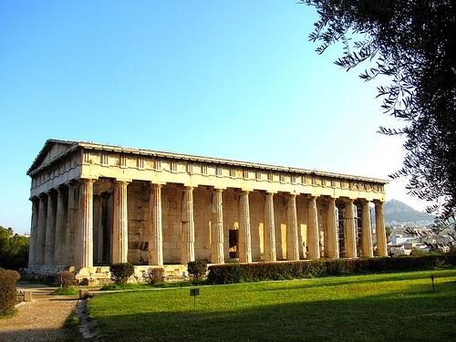 El templo de Hefesto de Atenas