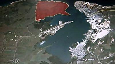Puerto del Mariel en Cuba