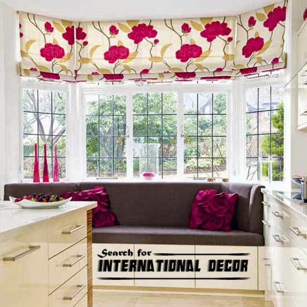 Design kitchen with bay window basic tips international - Kitchen bay window treatments ...