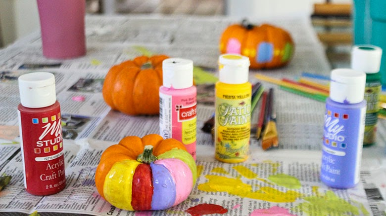 Painting Pumpkins Video!