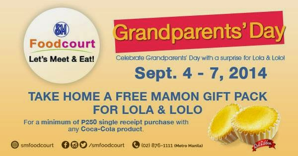 Celebrate Grandparent's Day at SM Foodcourt